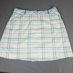 Tail White and Blue Skort